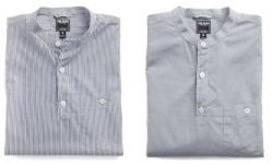 The Band-Collar Shirt Is Worth A Second Look